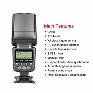 Image 4 - فلاش التحكم المشع Meike MK950 i TTL Speedlite 8 متوافق مع نيكون D7100 D7000 D5300 D5200 D5100 D5000 D3100 D3200 D750 D600 D90 D80