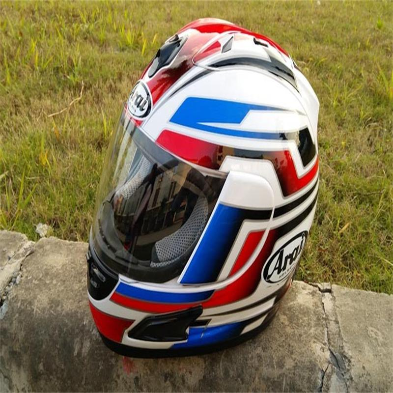 ФОТО Free shipping motorcycle helmet full helmet helmet Motorcycle Full Face Helmet DOT blue