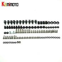 KEMiMOTO Motorcycle Fairing Bolt Screw Fastener Fixation For Honda CBR 1000RR 2008 2009 2010 2011 Complete