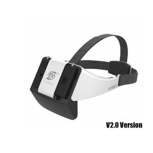 Image 1 - Nova fxt viper v2.0 5.8g diversidade hd fpv óculos com dvr embutido refrator para rc zangão quadcopter peça de reposição fpv accessoriess