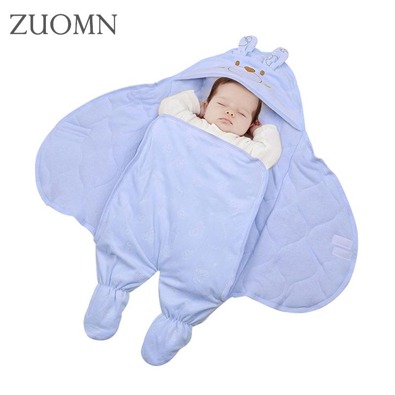 Winter Baby Swaddle Wrap Baby Swaddling Blankets Infant Packing foot cotton upset the kicking baby sleeping bags YL370 infant baby sleeping bag baby blankets quilt thick natural cotton sleeping bag detachable sleeves newborn swaddling clothes
