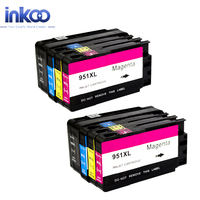 2 Set 950XL 951XL Ink Cartridge For HP 950 XL 951 XL Officejet Pro8100 8600 8610