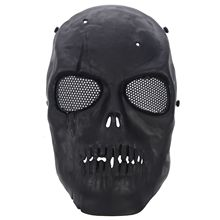 MUMIAN Airsoft Mask Skull Full Protective - Black