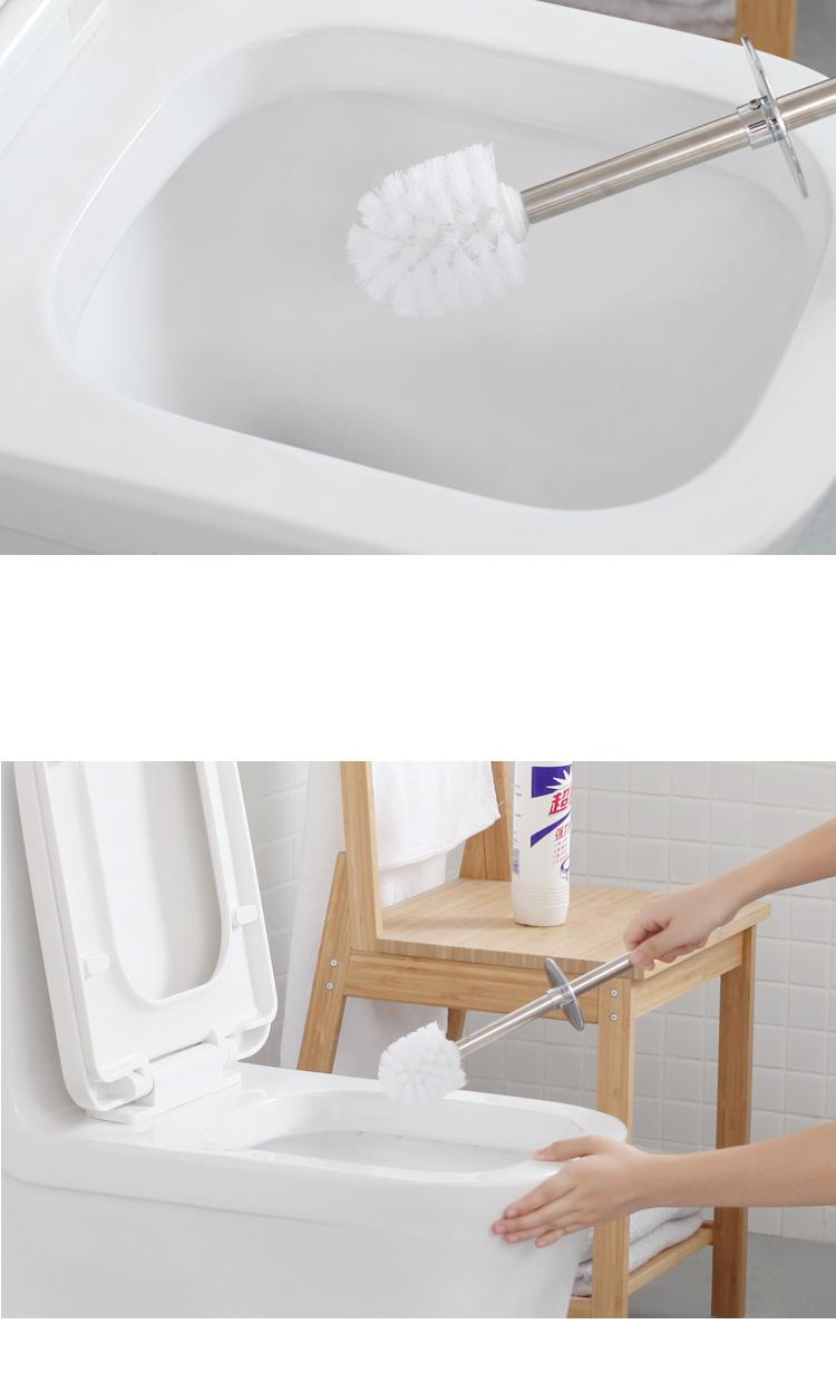 European Toilet Brush Holder Stainless Steel Frame Plastic Holder Standing Bathroom Accessories Set White And Balck Color Toilet Brush Holder Toilet Brushbathroom Accessories Aliexpress