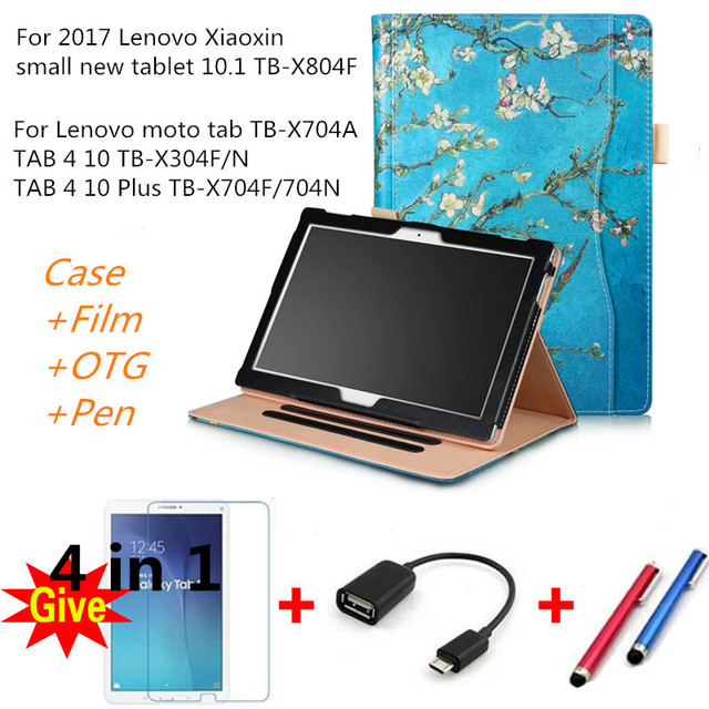lowest price 65a47 9548b Case for 2017 Lenovo tab 4 10/10 Plus/moto Tab Leather smart Cases ...