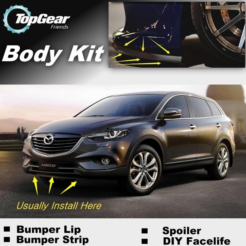 My Mazda App >> For Mazda CX 9 CX 9 CX9 Bumper Lip / Front Spoiler ...