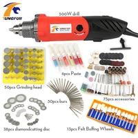 Tungfull 500 W Professionele Elektrische Mini Stiftslijper Tool 0.6 ~ 6.5mm Chuck Variabele Snelheid Rotary Tool DIY Multi Power Tools