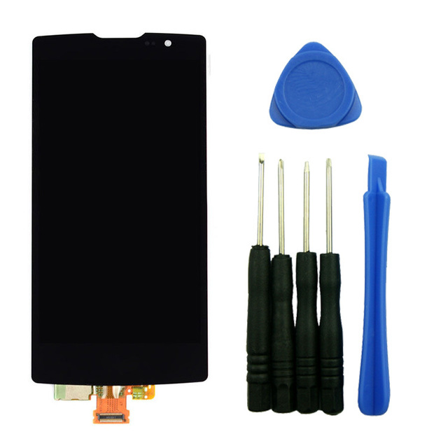 Touch Screen Digitizer LCD Display Assembly Replacement With Tools High Quality For LG Spirit 4G LTE H440N H420
