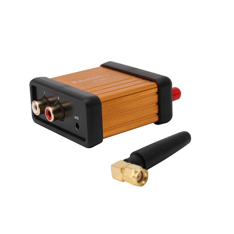 Free Shipping HIFI Bluetooth 4.2 Stereo Audio Receiver Box CSR64215 Digital Amplifier Board lusya csr64215 amplifier 4 2 apt x wireless lossless bluetooth audio stereo receiver board 6 36v a7 007
