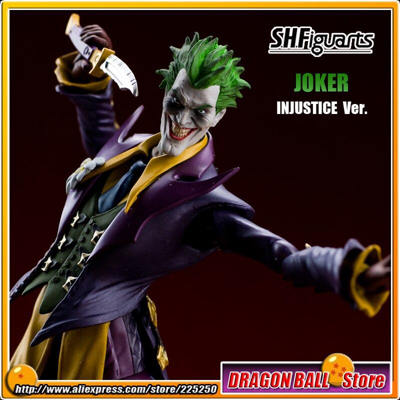 Batman Orijinal BANDAI Tamashii Milletler SHF/Shfiguarts Oyuncak Action Figure-Joker (ADALETSIZLIK Ver.)Batman Orijinal BANDAI Tamashii Milletler SHF/Shfiguarts Oyuncak Action Figure-Joker (ADALETSIZLIK Ver.)