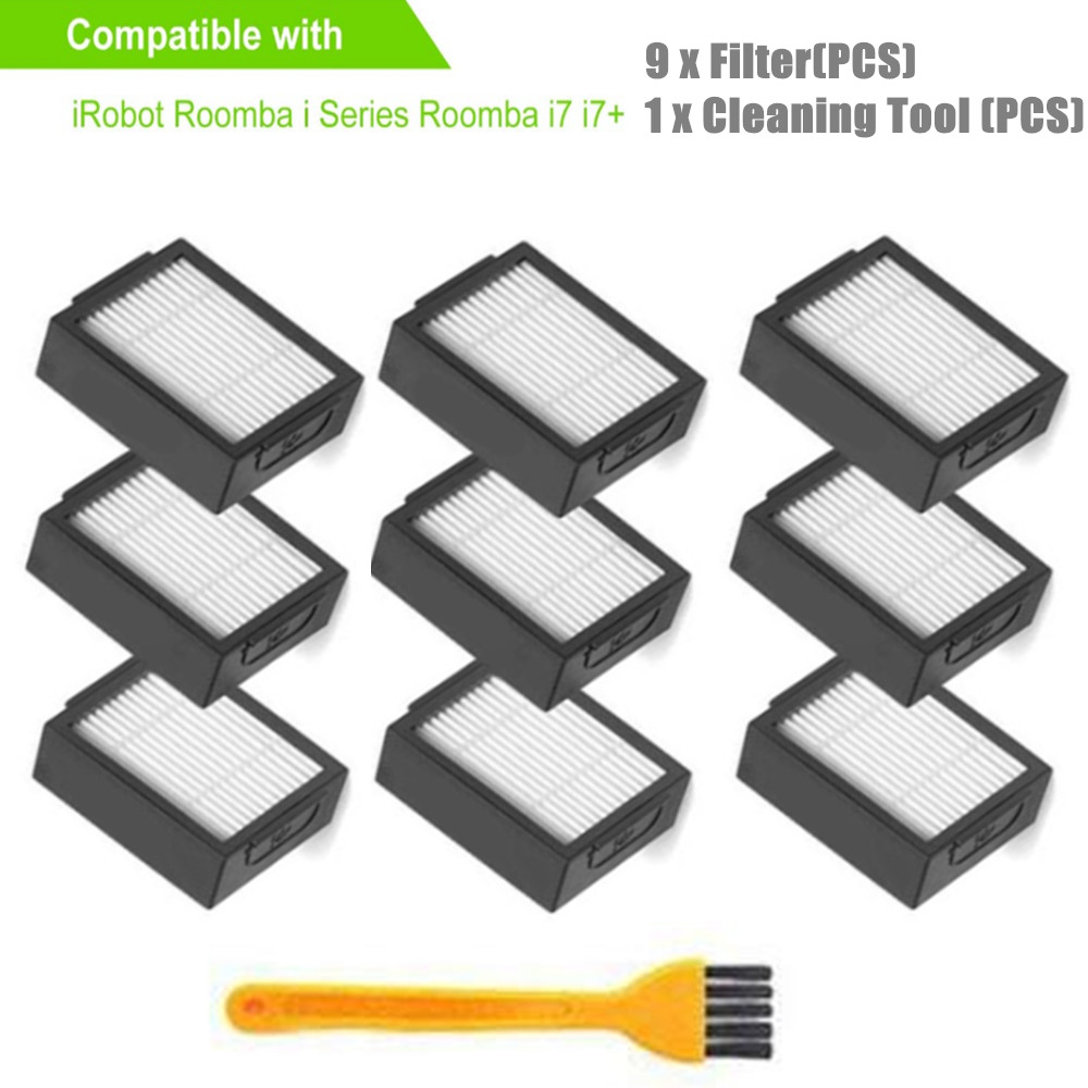 9cps Filter For IRobot Roomba I Series E Series Sweeping Robot Accessories For IRobot I7 E5 E6 Replacement Filters