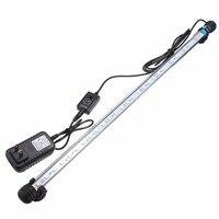 6.5W 57CM 30 LED Underwater Light 5050 SMD 24 Keys Remote Control RGB Aquarium Fish Tank Led Bar Light Submersible AC100 240V