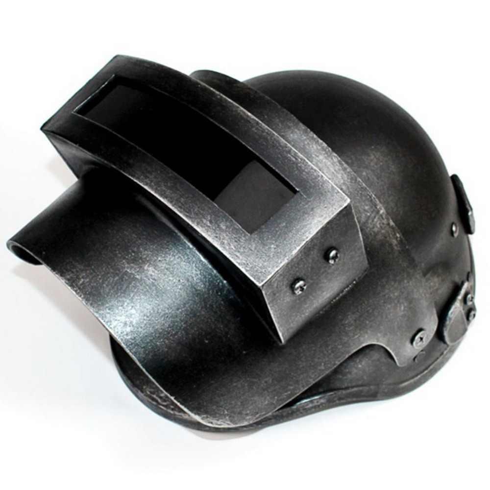 Jogo de cosplay pubg para frango 3, capacete de cozinha com cabeça de terceira classe adereços