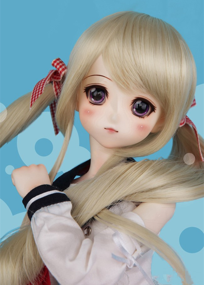 Luodoll BJD SD doll doll Girl Toy 1/4 Doll (free eyes + free make up) цена