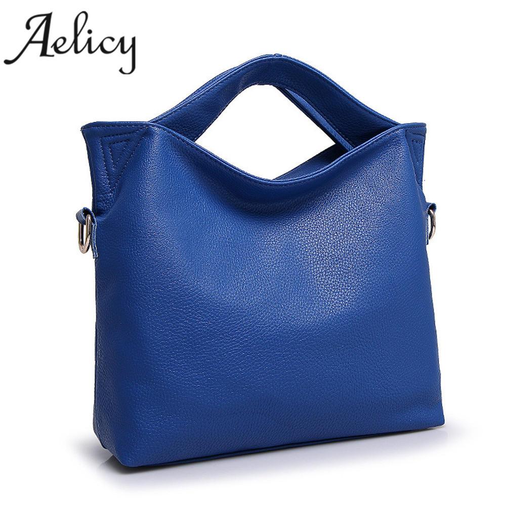 Aelicy Fashion Women Leather Handbags Luxury Handbags Women Bags Designer Bags Handbags Women Famous Brands bolsa feminina women casual totes genuine leather handbags luxury handbags women bags designer purses bolsa feminina designer brand women