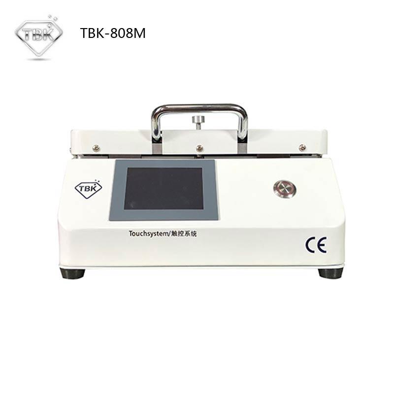Più nuovo MINI TBK-808M LCD Touch Screen Plastificatrice Riparazione Bubble Rimozione Macchina di Blocco Automatico di Aria OCA Vuoto Macchina di Laminazione