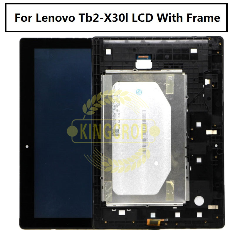 Nice Replacement New Lcd Display Touch Screen Assembly For Lenovo Tab 2 A10-30 Yt3-x30 X30f Tb2-x30f Tb2-x30l X30 A6500 Black Tablet Accessories