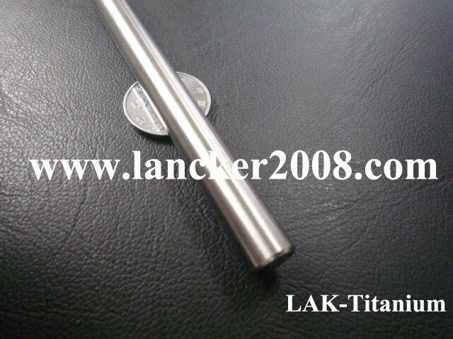 Gr2 Titanium bar 6mm 196 01