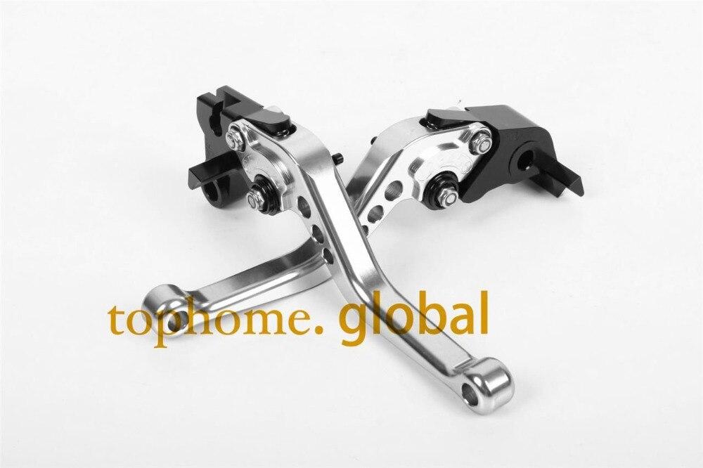Short Clutch Brake Levers For TRIUMPH Bonneville/SE/ T100/BLACK 2006 - 2015 Hot Sale CNC Adjustable 07 08 09 10 11 12 13 14