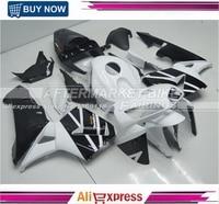 Aftermarket OEM Injection Moudling Bodywork For Honda CBR600RR 05 Fairing Replica Black And White