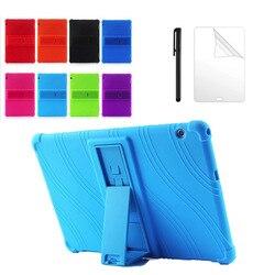 Étui en silicone pour Huawei MediaPad T5 AGS2-W09/L09/L03/W19 10.1