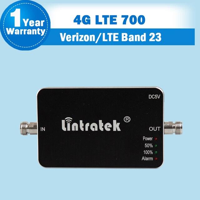 США Verizon 4 Г FDD LTE 700 Band 23 Мобильный Сигнал ретранслятор Мини 4 Г LTE 700 мГц Усилитель 65dB Сотовый Телефон Ретранслятор Усилитель антенна