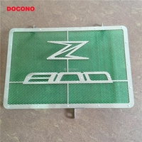 DOCONO Z800 Motorcycle Stainless Steel Radiator Guard Protector Grille Grill Cover For Kawasaki Z800 Z 800