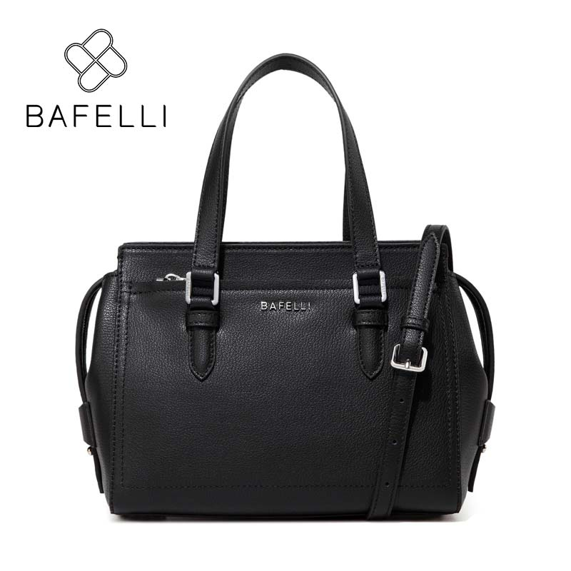 BAFELLI fashion split leather shoulder handbag for women crossbody tote bag red pink black bolsa mujer women messenger bag