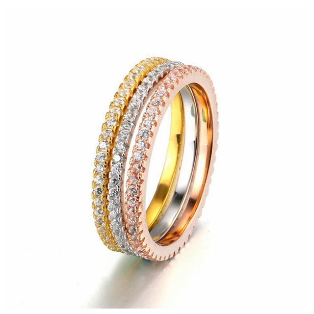 white simulate genuine rings womens stone item bands synthetic wedding fabulous gold band engagement main sets bridal diamond