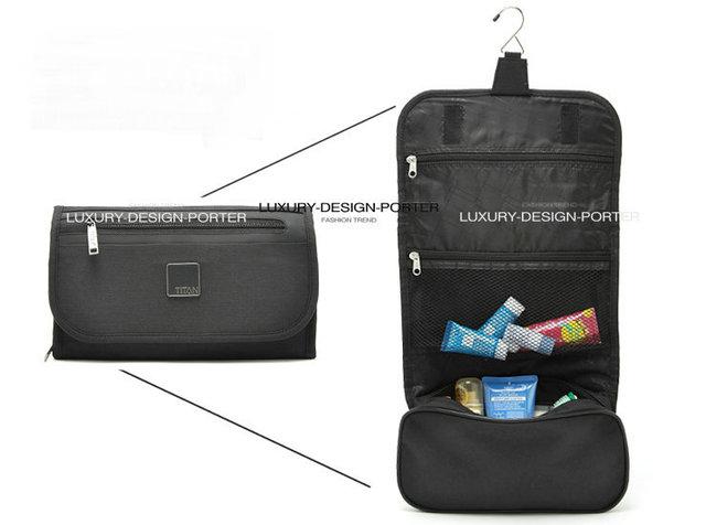 High Quality Waterproof Men Hanging Toiletry Cosmetic Bag Travel Makeup Bag Organizer Folding Hanging Kit necessaries