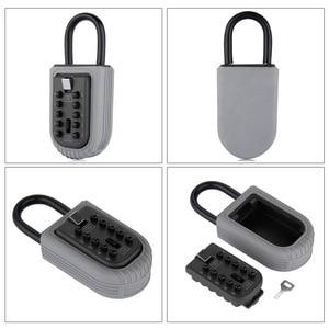Image 3 - חדש שחור כבד החובה מפתח נסתרת אחסון כספת עם 4 דיגיטלי נעילת סיסמא עמיד בית Carvan משרד RV