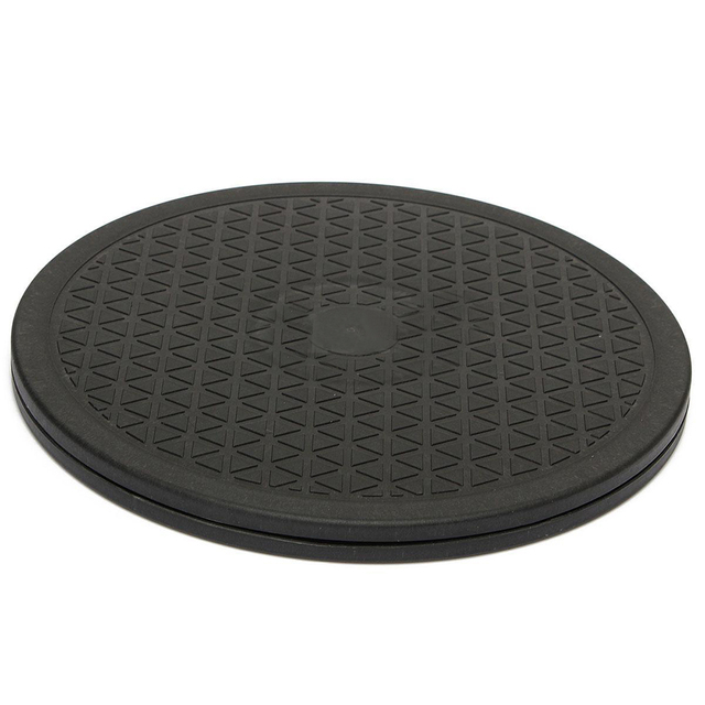 NEW 10 inch Black Swivel Plate// Lazy Susan// Turntable