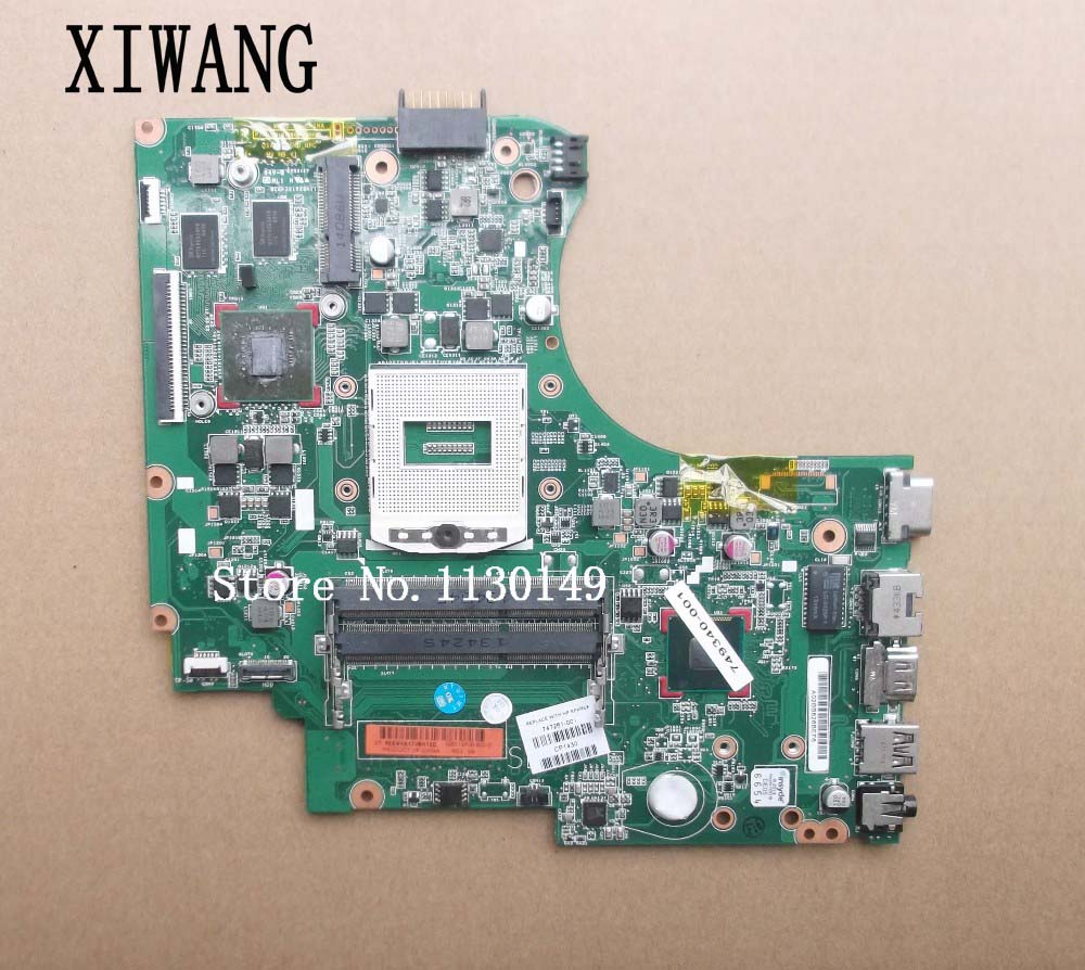 747261-501 Free shipping 747261-001 motherboard for HP Touchsmart 14-d laptop main board DDR3 820/2G 100% tested747261-501 Free shipping 747261-001 motherboard for HP Touchsmart 14-d laptop main board DDR3 820/2G 100% tested