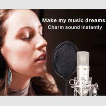Профессиональный проводной Студийный микрофон yarmee yr01 для