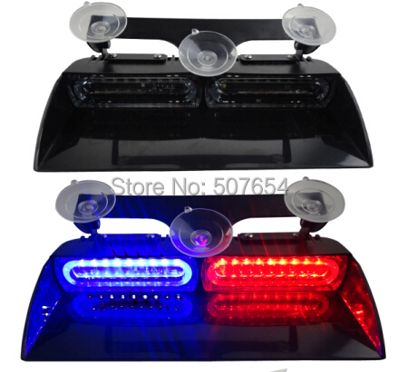 Higher star 18W Led car Visor Emergency light,dash warning light with cigartte lighter,16 flash,waterproof