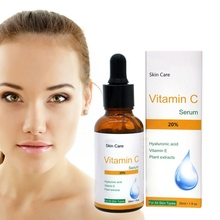 Serum Series Vitamin C + Hyaluronic Acid Whitening Face Skin Care Anti-Aging Moisturizing Brighten