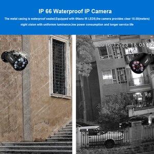 Image 4 - Smar 4CH 4MP POE طقم NVR H.265 نظام الأمن HDMI المعادن 4MP الأشعة تحت الحمراء في الهواء الطلق CCTV IP كاميرا P2P مجموعة مراقبة الفيديو 2 تيرا بايت HDD xyahe