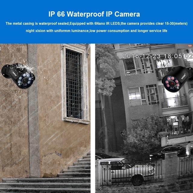 Smar 4CH 4MP POE NVR Kit H.265 Security System HDMI Metal 4MP IR Outdoor CCTV IP Camera P2P Video Surveillance Set 2TB HDD Xyeme
