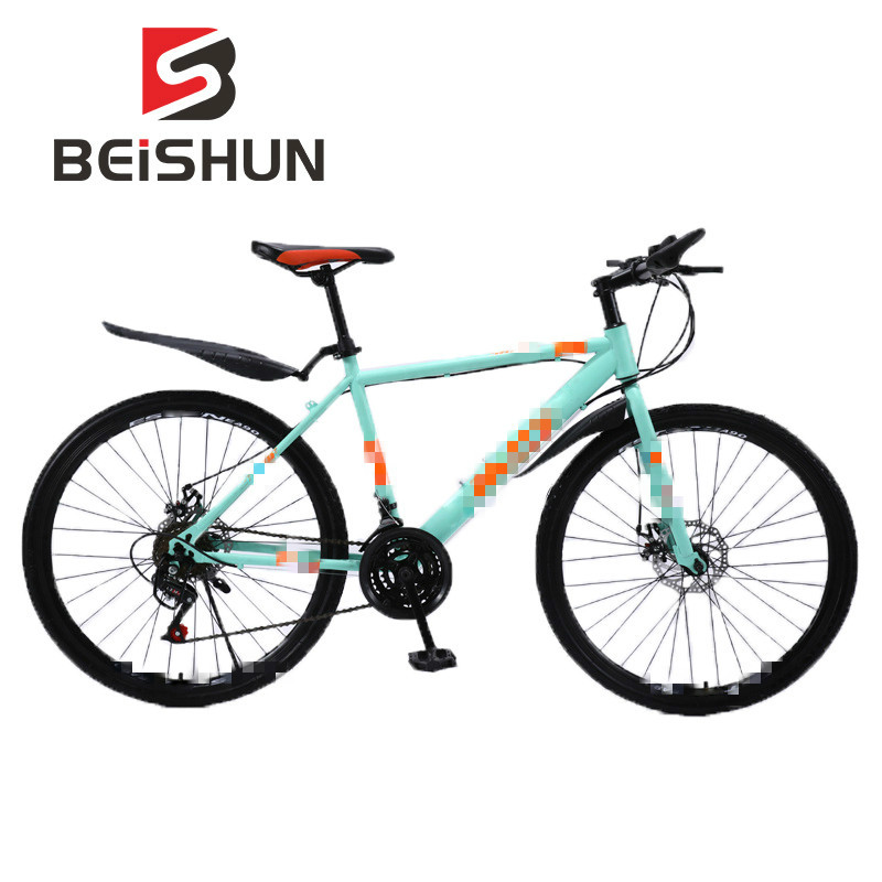 26 Inch Bicycle Spoked Wheel Mountain Bikes for Adults Shift Speed Bike