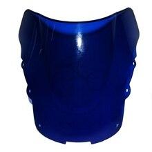 Double Bubble Синий Лобового Стекла Ветрового Для Honda CBR1100XX CBR 1100 XX 96-2007