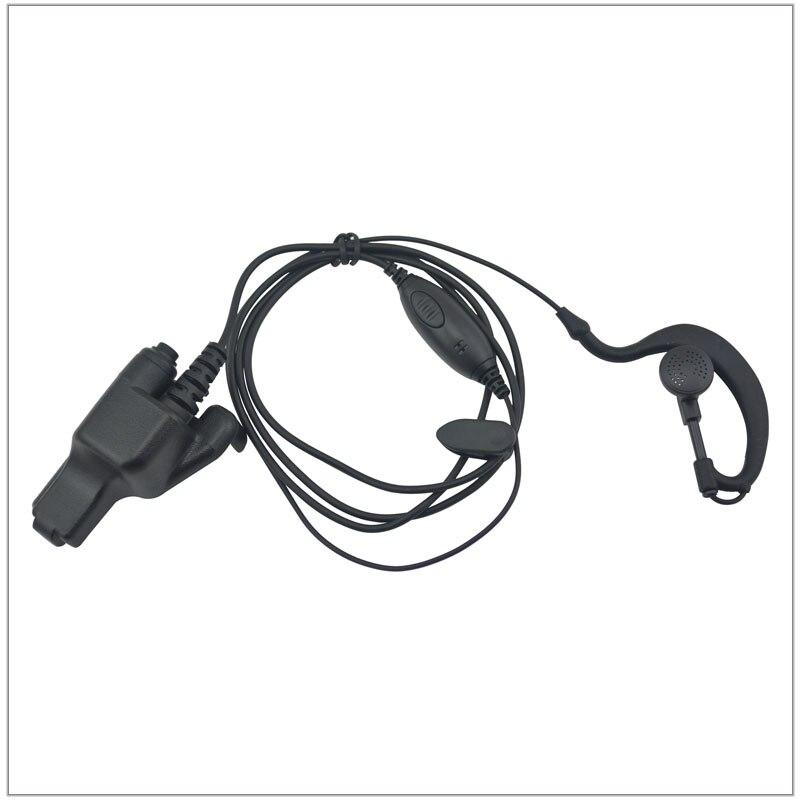 Ear Loop Earpiece W/ PTT  For Motorola HT1000, MTS2000, XTS2500, XTS3000, XTS3500, XTS5000, MT2000, JT1000, MTX8000, MTX9000