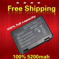 Batería del ordenador portátil para asus k40ad pr08s pro5c k40ae x70ad x70ae K40AF K40C X70AF PRO5D PRO5E PRO5J PRO65 K40EA X70F X70E X70I