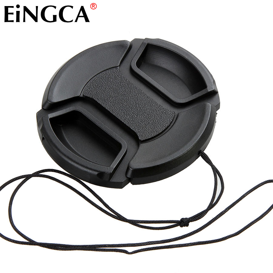 1 Piece DSLR Camera Lens Cap 52mm Filter Mount Protection Cover for Nikon AF-S 18-55mm Lens / for Canon EF 50mm f/1.8 II Lens image
