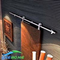 6 6 FT SS 304 Barn Wood Sliding Door Hardware