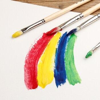 Bgln 180 г/м2 профессиональная водная цветная бумага 10 листов водная цветная бумага для красок водорастворимые цветные карандаши товары для ру...