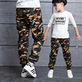 Fashion Camouflage Boy pants 100-160cm winter warm cotton boy trousers children Sweatpants spring autumn kids sports casual pant