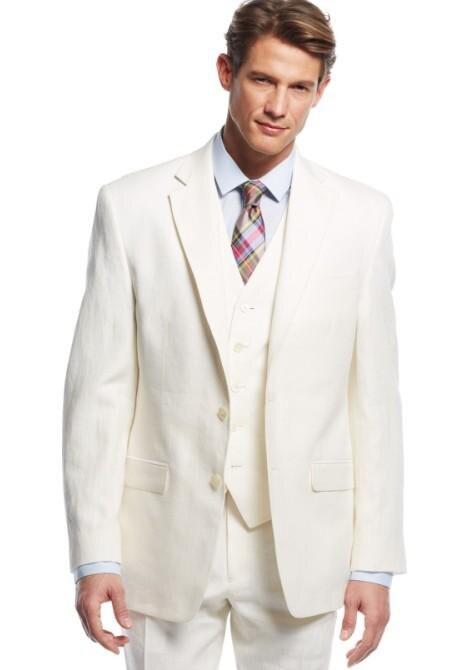 2017 por encargo más nuevo novio Esmoquin muesca solapa de los hombres del  juego del padre de la novia Trajes (chaqueta + pantalones + chaleco) formal  ... 3bda28e7b485
