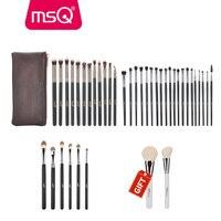 Buy 3 Get 1 Gift MSQ Professional 3sets Eye Makeup Brushes Rose Gold Eyeshadow Eyebrow Brush