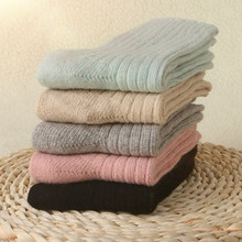 ФОТО ladies socks hombre thick wool warm sock free shipping women's socks 5 pairs/lot high quality winter socks keep warm size 34-39