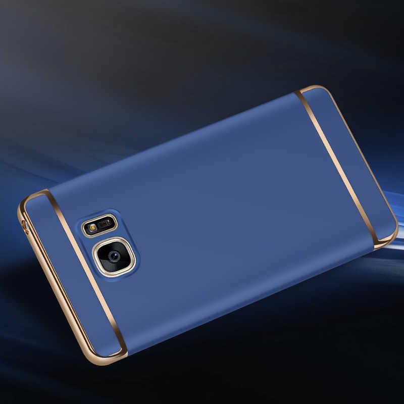 Роскошные 3 в 1 чехол для телефона для samsung Galaxy S7 S8 S9 плюс S6 край A310 A510 A7710 A3 A5 A7 J3 J5 J7 2017 A6 A8 плюс Coque Shell